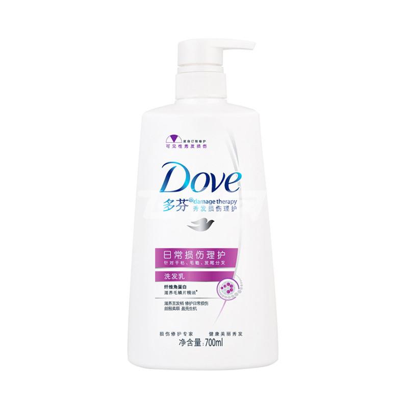 多芬日常损伤理护洗发乳700ml/瓶评价