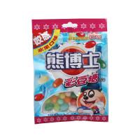 徐福记 熊博士彩豆糖(水果味) 60g/袋