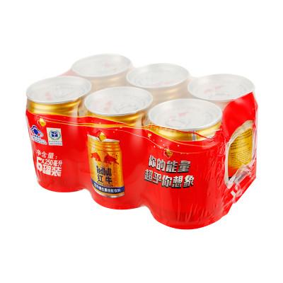红牛维生素功能饮料(原味型6联包)250ml*6罐/组