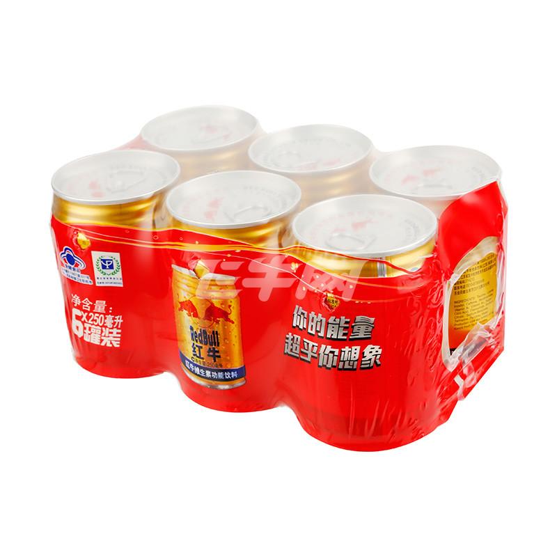 红牛维生素功能饮料(原味型6联包)250ml*6罐/组图片