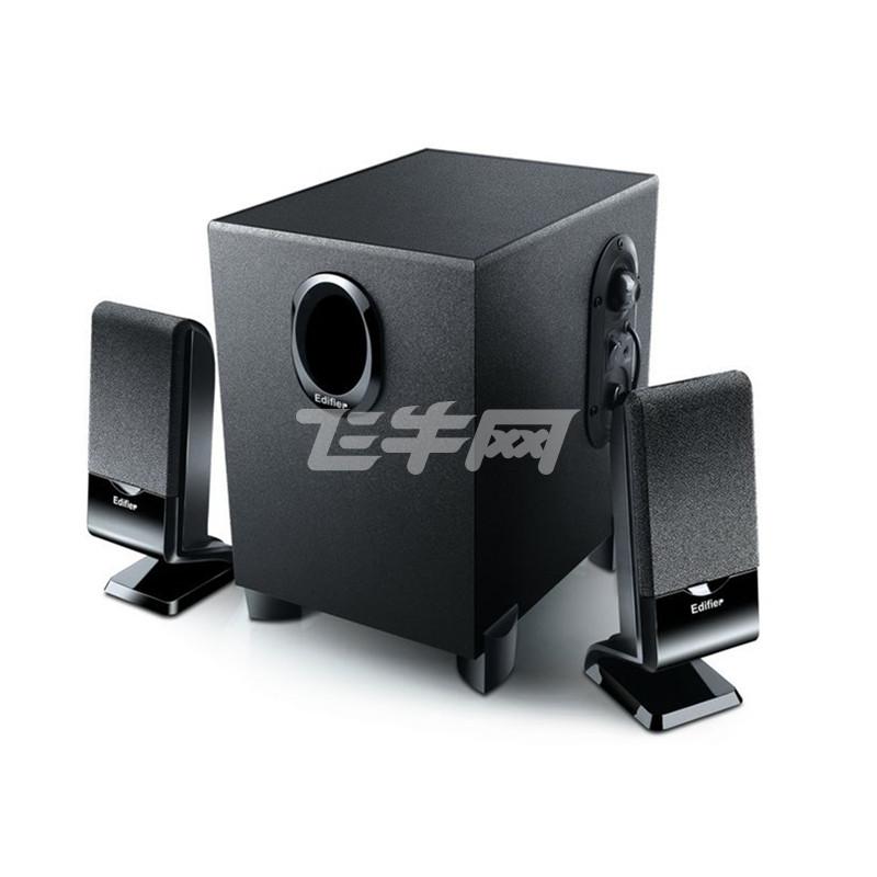 漫步者(EDIFIER) R101V 2.1声道多媒体音箱 (黑色)评价