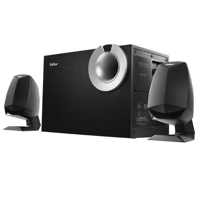 漫步者(EDIFIER) R201T08 2.1声道 多媒体音箱 (黑色)