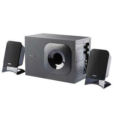 漫步者(EDIFIER) R201T12 2.1声道 多媒体音箱 (黑色)