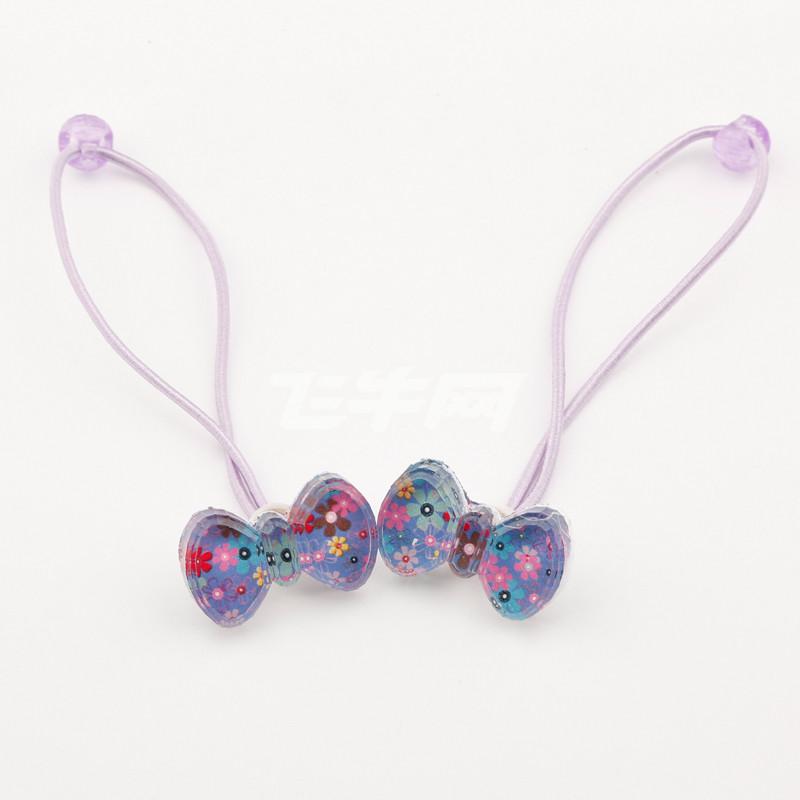 大道自然 儿童可爱糖果色公主发圈 f025 紫罗兰
