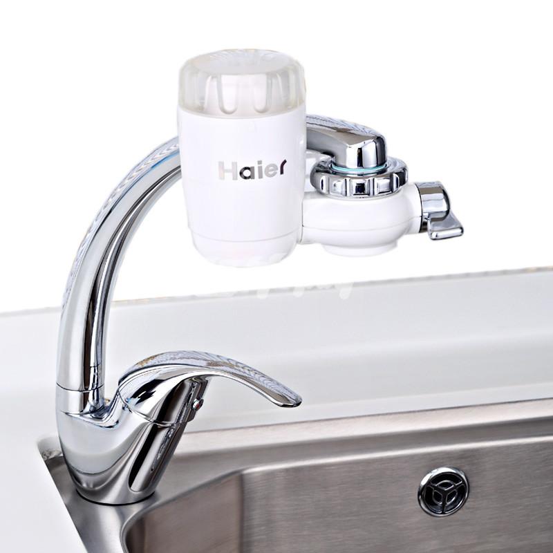 海尔(haier)ht101-1 超滤水龙头 台式净水器 白色