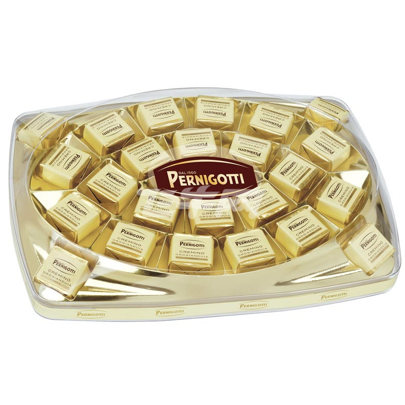意大利进口 派力高 PERNIGOTTI 礼盒装榛子扁桃仁牛奶巧克力 255g