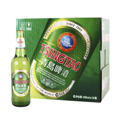 青岛啤酒500ml*12瓶/箱