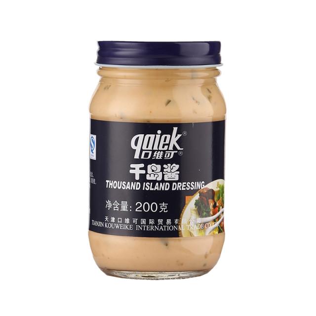 口维可千岛酱200g/瓶