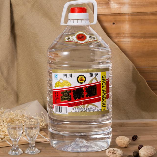 42度川雨桶装高粱酒5000ml/桶