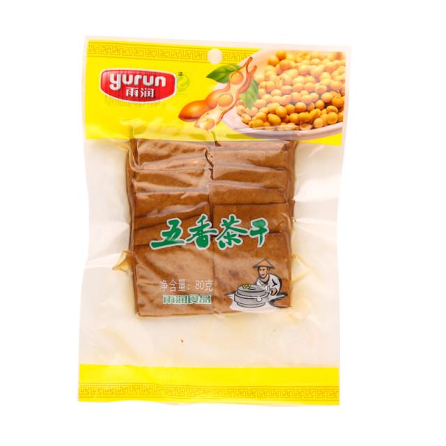 雨润五香茶干 80克/袋