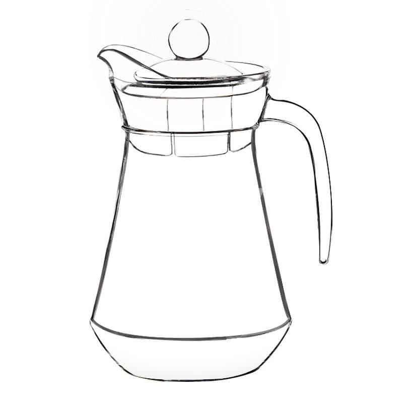 设计水壶创意线稿