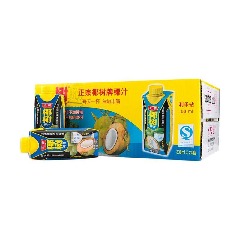 正宗椰树牌椰汁 330ml/盒
