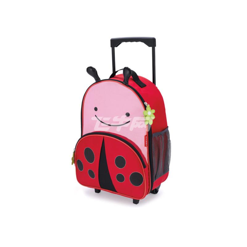 Skip Hop zoo可爱动物园小孩专用行李箱 甲虫 儿童行李箱 旅行箱 卡通拉杆箱 100002290