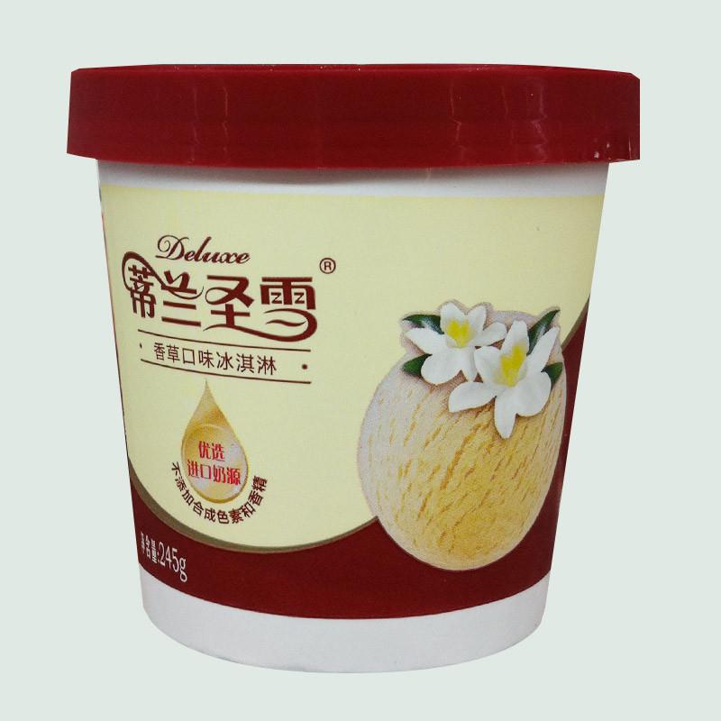 蒙牛 蒂兰圣雪香草口味冰淇淋 245g/杯