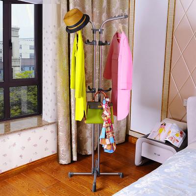 宝优妮不锈钢衣帽架落地 室内衣架衣服架创意卧室现代
