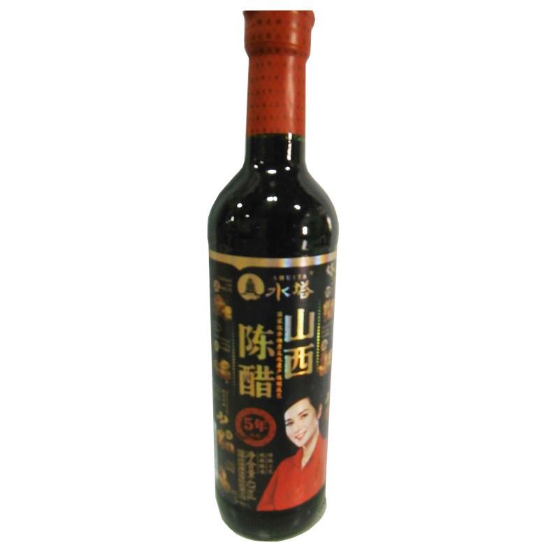 水塔山西陈醋5年陈酿 420ml/瓶【价格