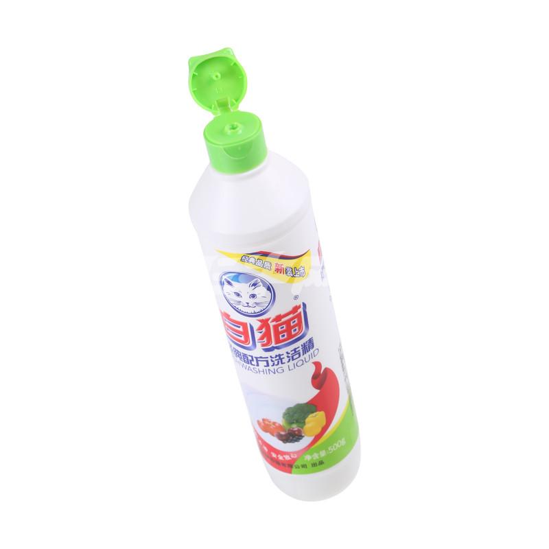 白猫经典配方洗洁精500g/瓶