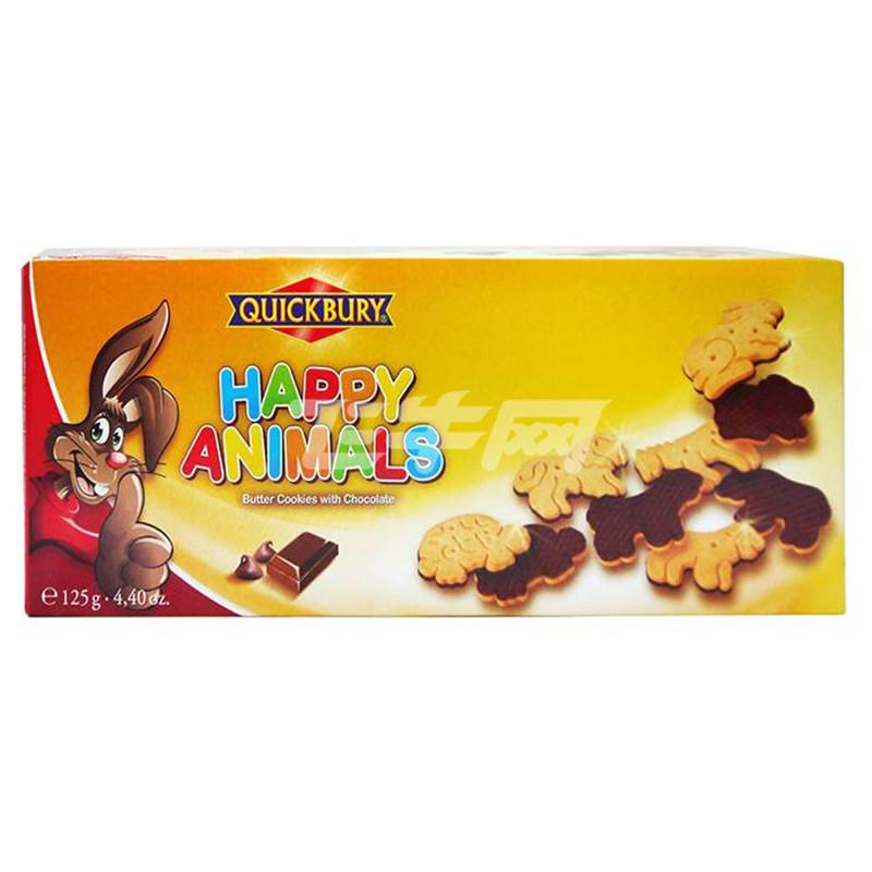 动物造型巧克力曲奇饼干