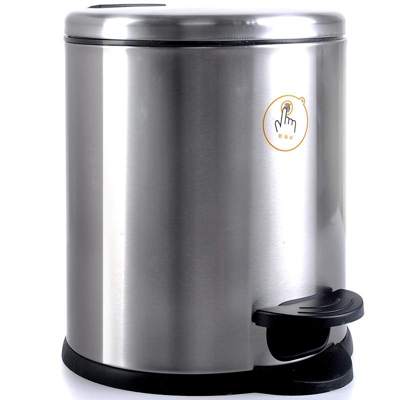 脚踏式不锈钢垃圾桶