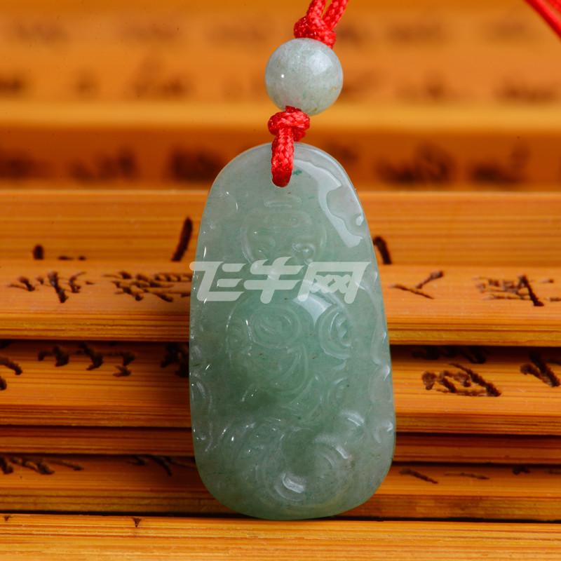 石头记 东陵石十二生肖玉坠项链 鼠牛虎兔龙蛇马羊猴鸡狗猪吊坠 蛇