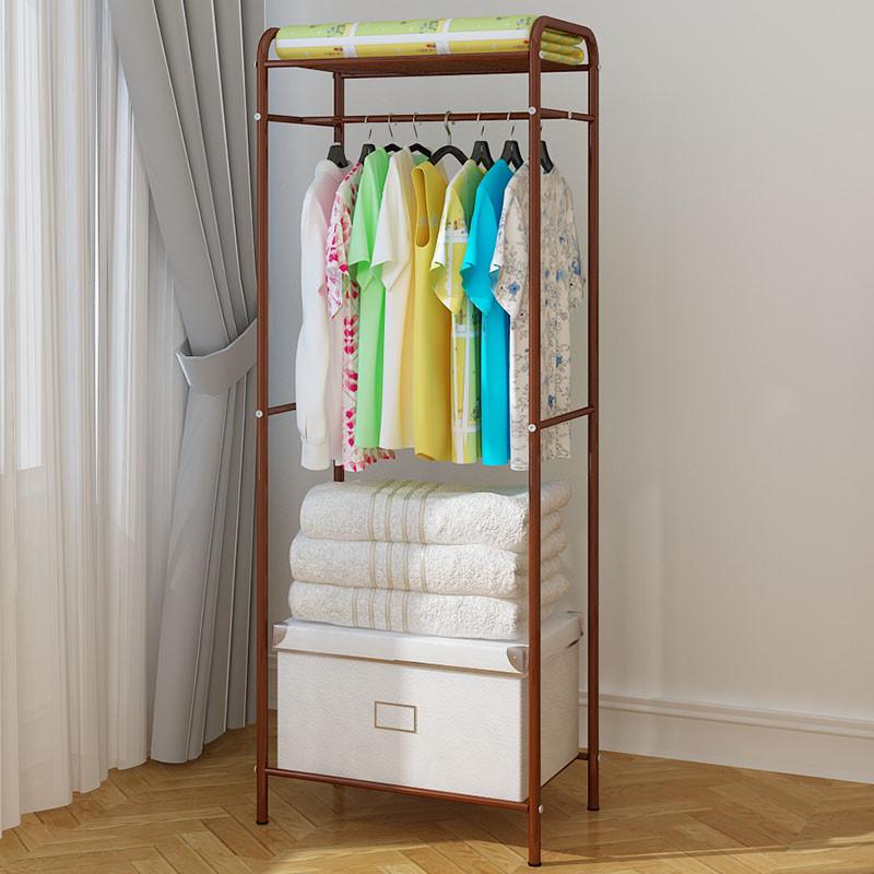 家世比 落地衣服架挂衣架 欧式卧室衣架 创意时尚铁艺