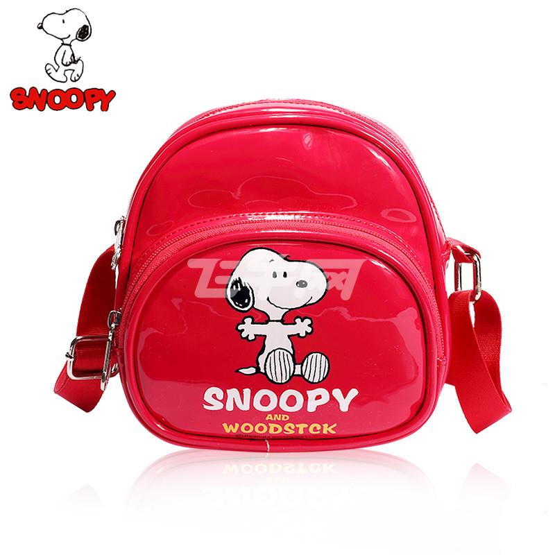 史努比 韩版幼儿园双肩包1-2-3岁宝宝小书包可爱背包卡通包包男女儿童