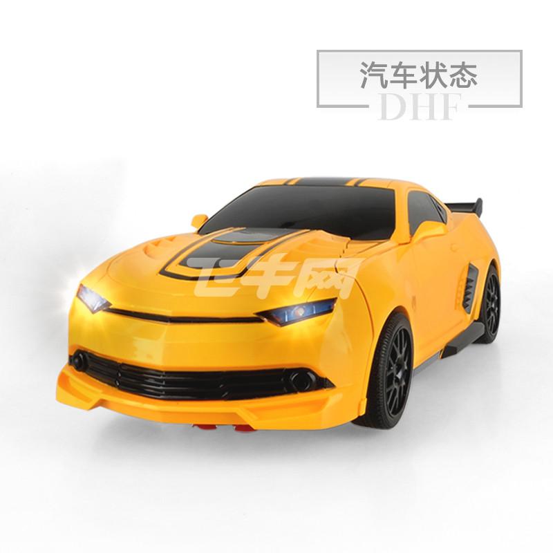 美致 美致遥控变形一键变身金刚玩具大黄蜂汽车机器人