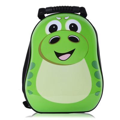 儿童卡通背包书包 绿色小恐龙