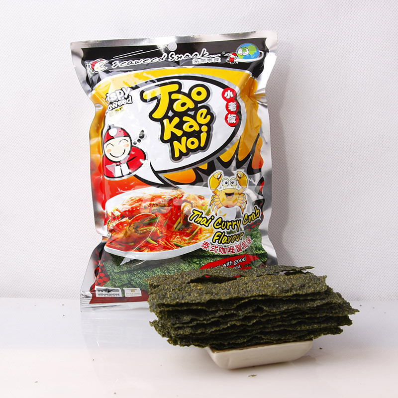 泰国进口 小老板 调味海苔(泰式咖喱蟹味) 36g/袋