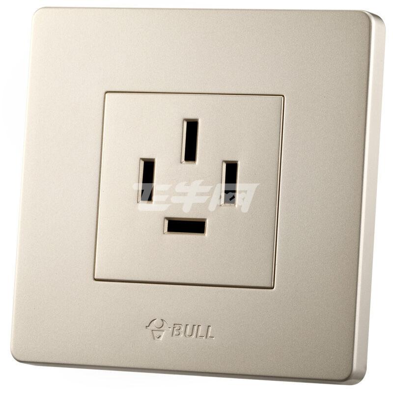 一位三相四线16a墙壁插座