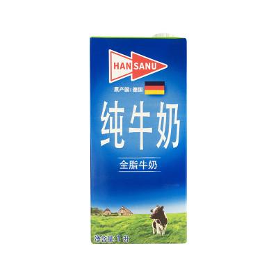 进口牛奶1l全脂