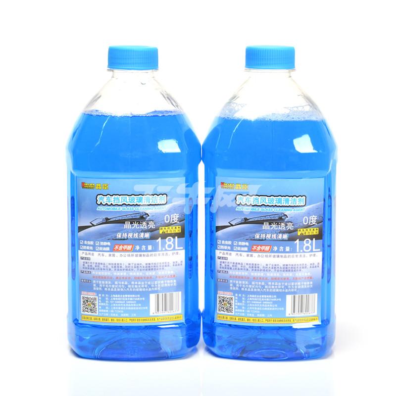 kinson晶臣汽车玻璃水挡风玻璃清洁剂 1.8l