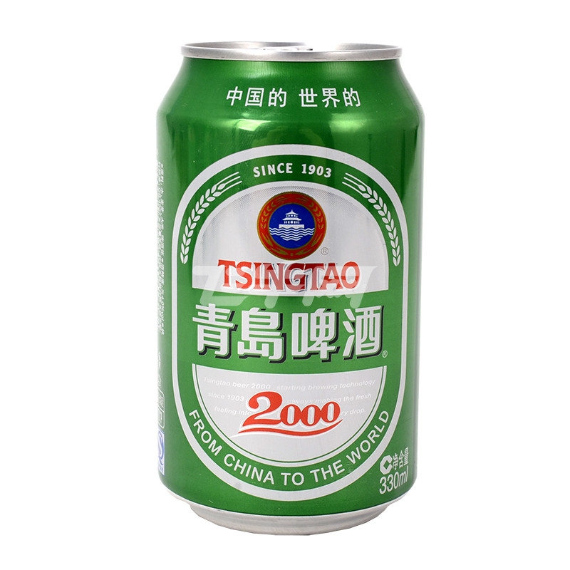 青岛2000啤酒330ml*6罐/组