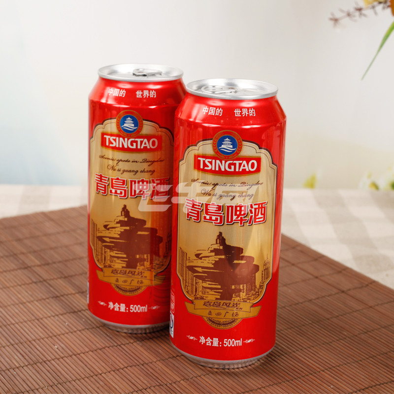 青岛啤酒风光礼盒500ml*12听/盒