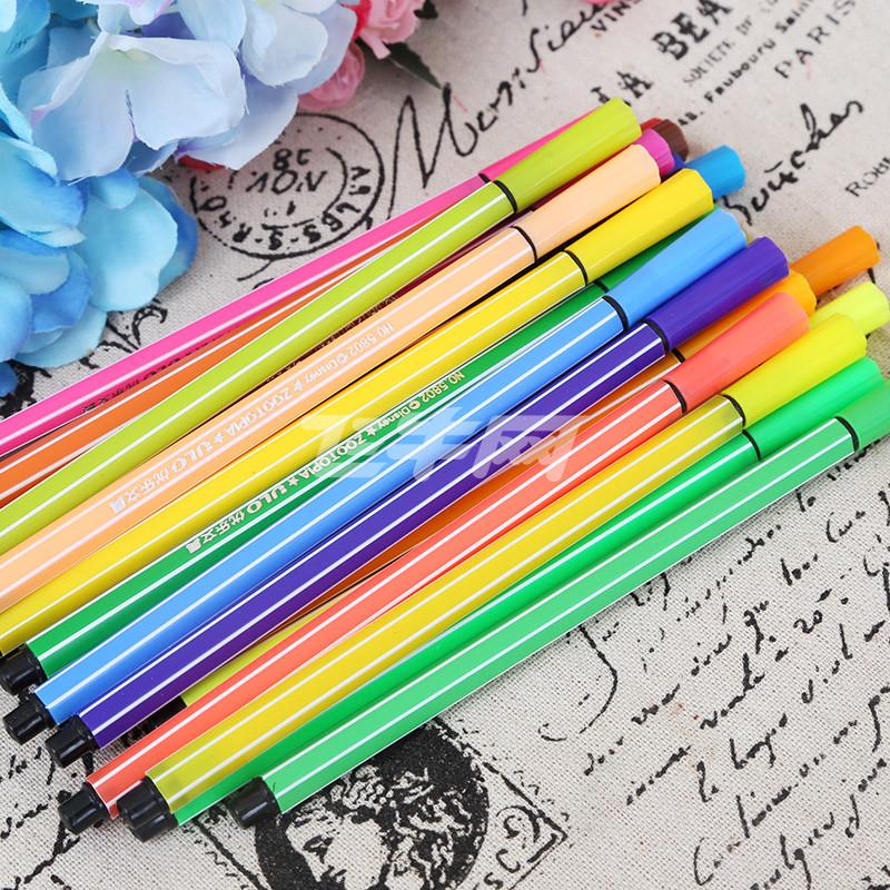 疯狂动物城24色可洗水彩笔zp5815