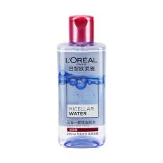 欧莱雅三合一卸妆洁颜水倍润型250ml/瓶