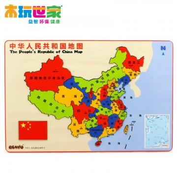 木玩世家比好中国地图