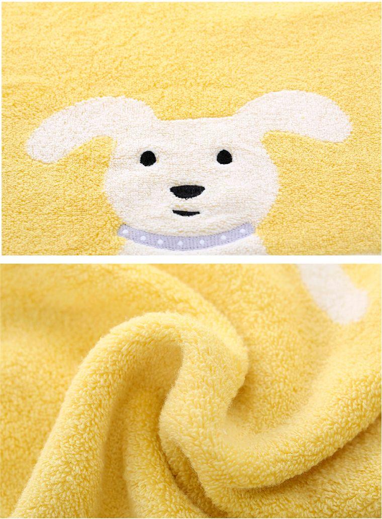 领先家纺 萌系动物 可爱小狗 绿