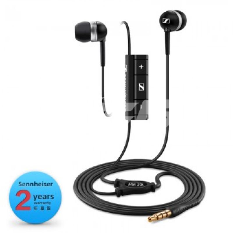 森海塞尔 sennheiser mm30i 立体声入耳式耳机 iphone