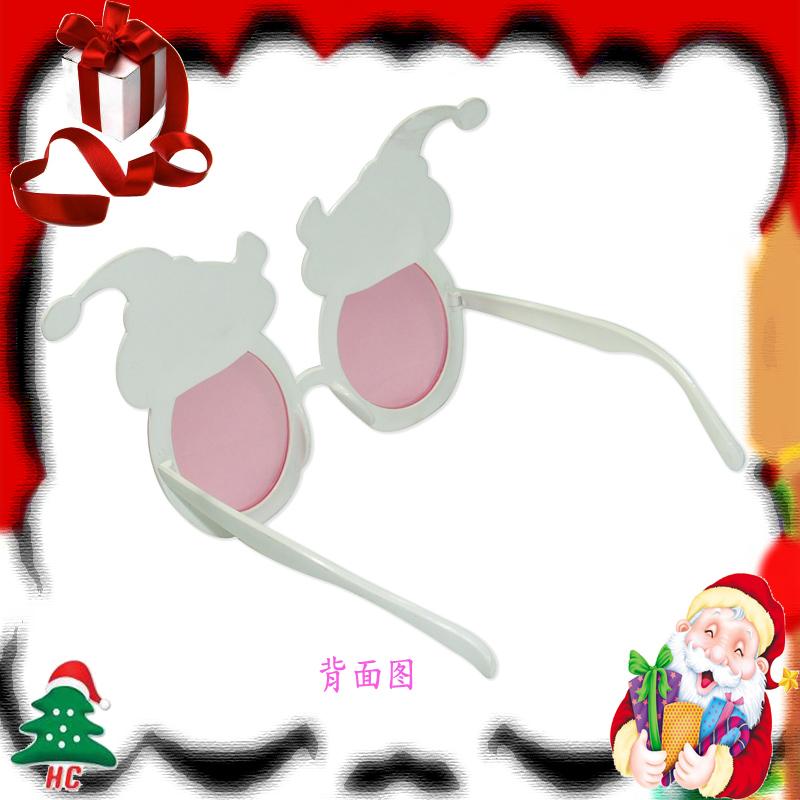 上海焕成圣诞快乐可爱圣诞老公眼镜1入 x-5335