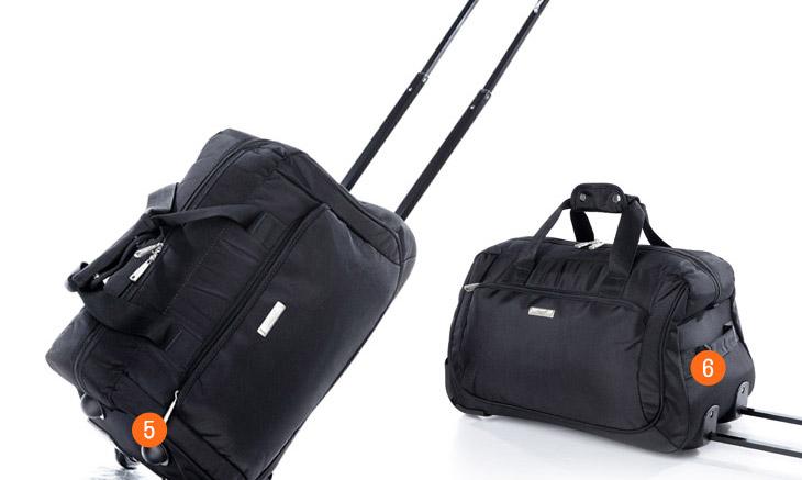 亨得利 拉杆包旅行包手提女短途出差旅游男女登机行李