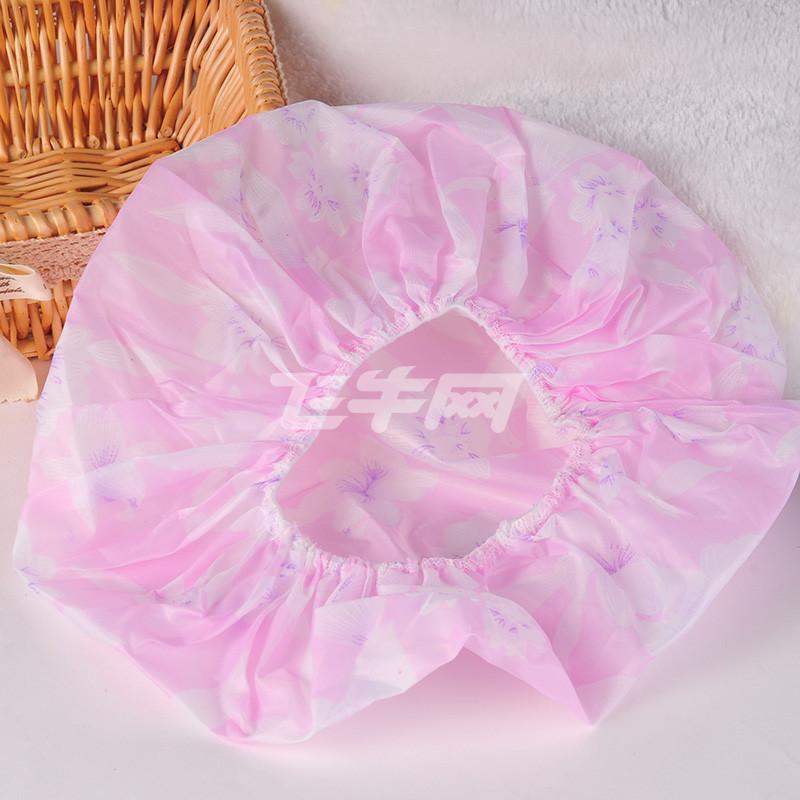 浴帽装饰步骤图